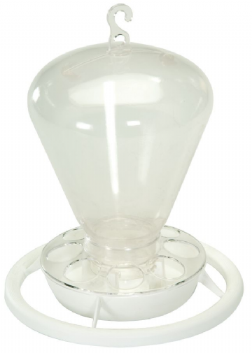 Pet Ting Large Feeder/Drinker Clear 1000cc